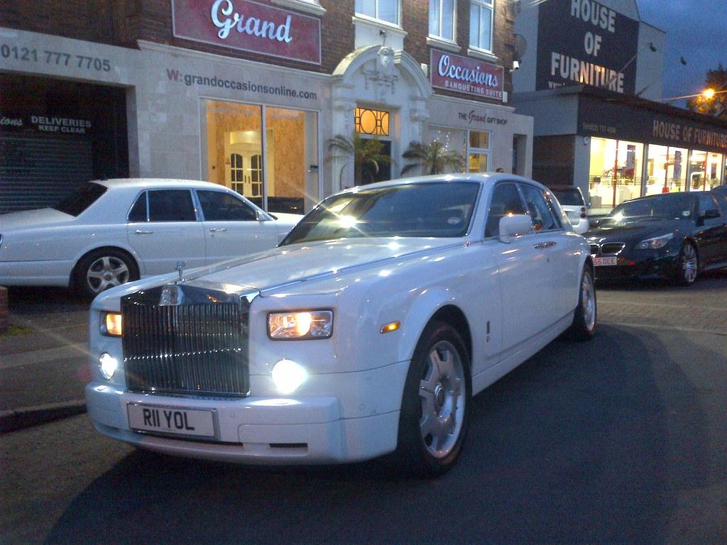 Wedding Cars- Rolls Royce Phantom- Royal Limos- Birmingham… | Flickr