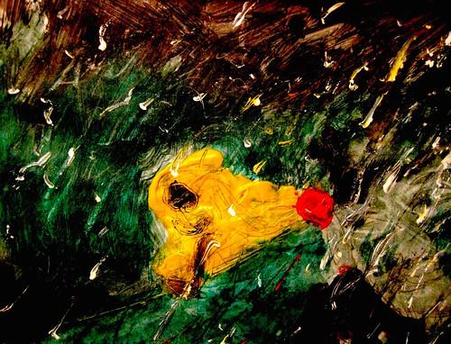 Woman On A Rainy Night