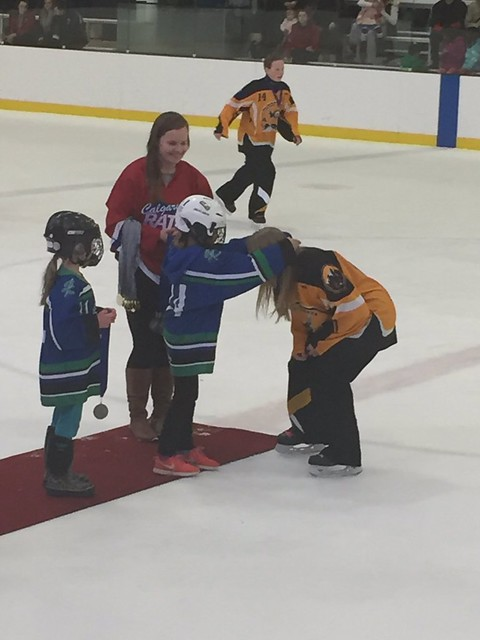 Feb 26, 2017 - RATH and U10 SCal handing out Prov medals