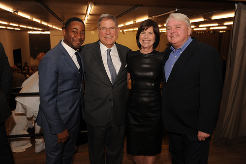 Franklin Sirmans, Alberto Ibarguen, Debora Scholl, & Dennis Scholl at Fourth Annual Reception for the PAMM Fund for African American Art
