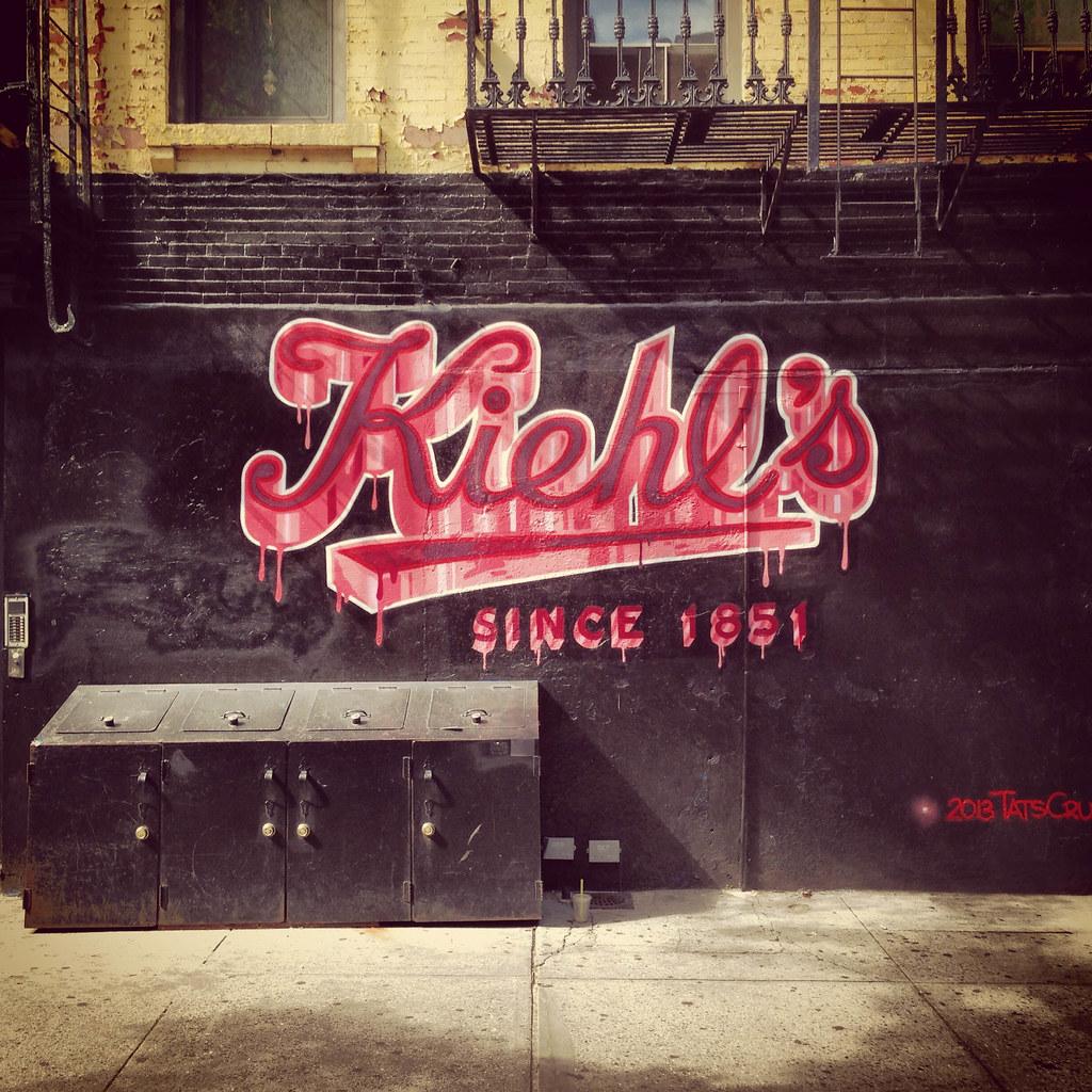 ... Kiehlu0027s Store Street Art In Hellu0027s Kitchen, NYC   By ChrisGoldNY