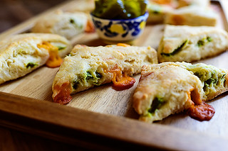 Jalapeño Cheddar Scones | by Ree Drummond / The Pioneer Woman