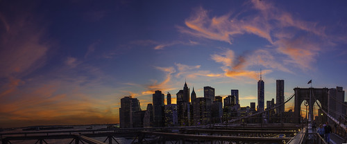 New York City Sunset Panoramic 2014 | by Anthony Quintano