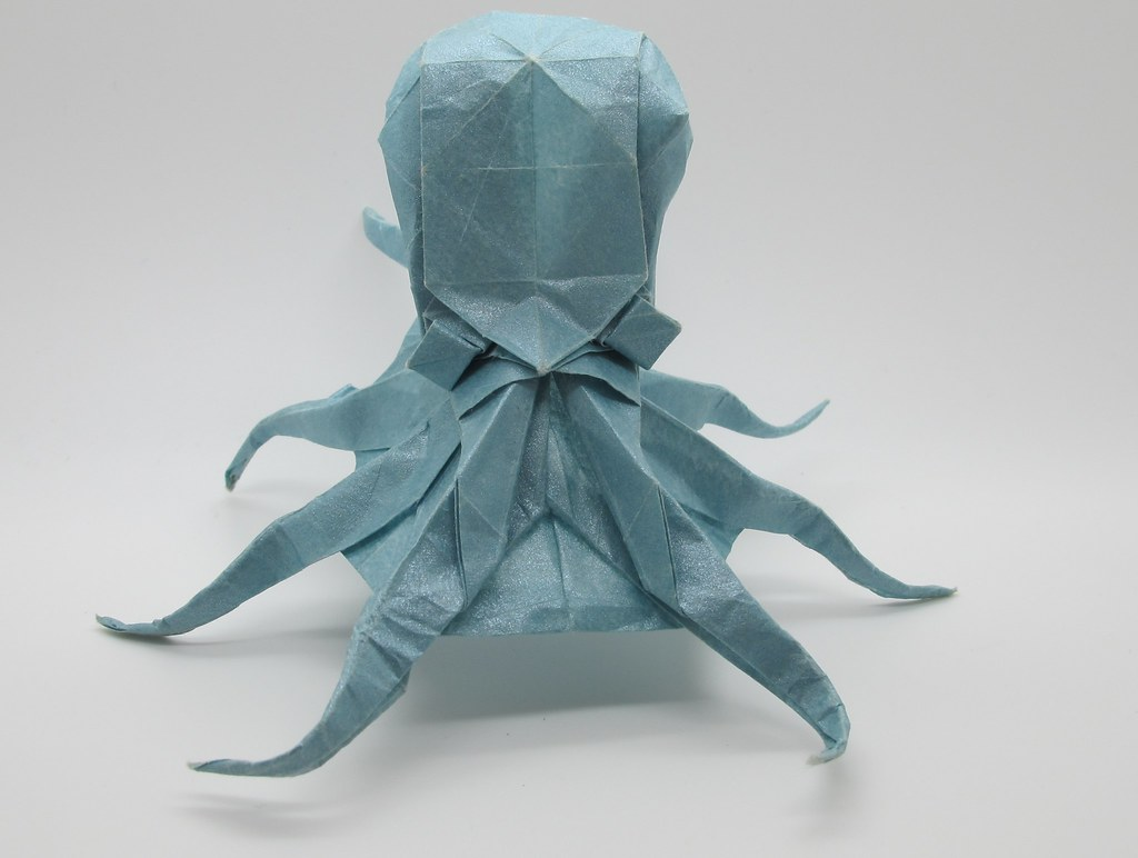 Origami Octopus Designed By Satoshi Kamiya