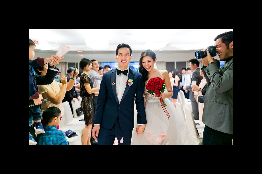 Fairmont Singapore Wedding