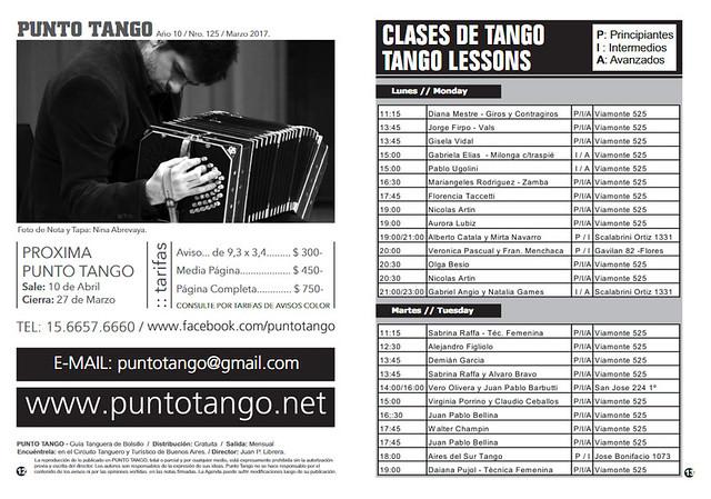 Revista Punto Tango 125 de Marzo 2017 - 07