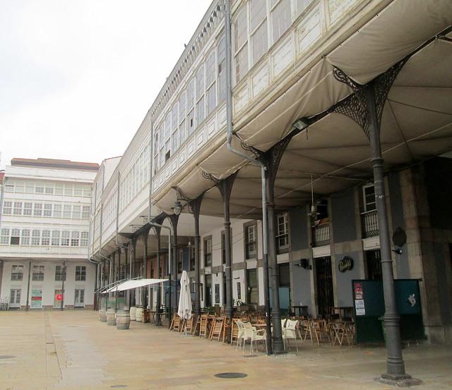 Old Market Colonnades, Avilés