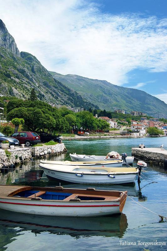 Лодки в Доброте