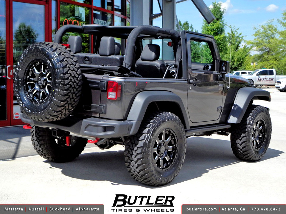 Elegant ... Jeep Wrangler Rubicon With 18in Black Rhino Sierra Wheels | By Butler  Tires And Wheels