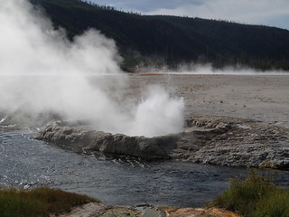 Cliff Geyser erupting (late afternoon, 5 August 2013) 3 | by James St. John