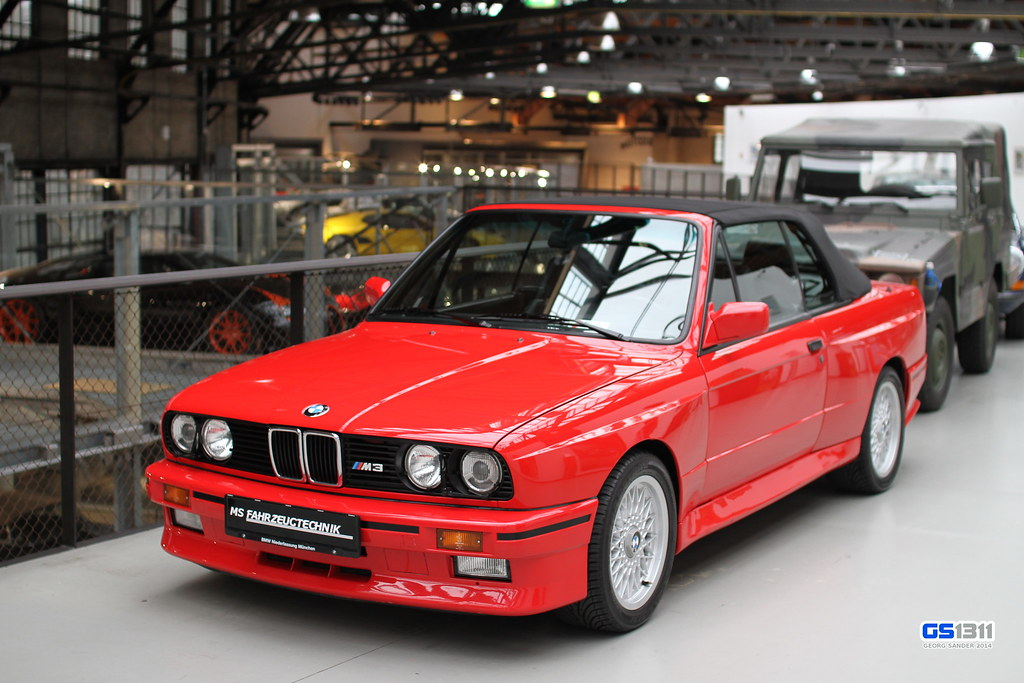 BMW M Cabrio E The BMW M Is A Highperfo Flickr - 1991 bmw m3