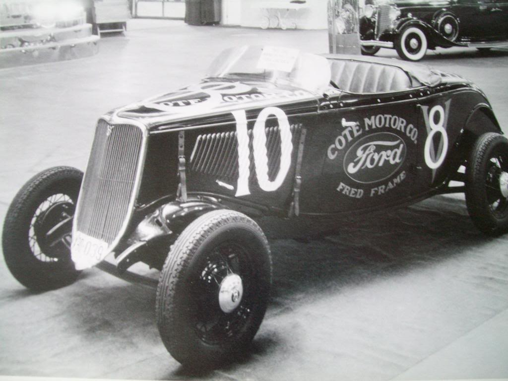 1933 Ford Fred Frame car at 1934 Mines Field Race Los Ange… | Flickr
