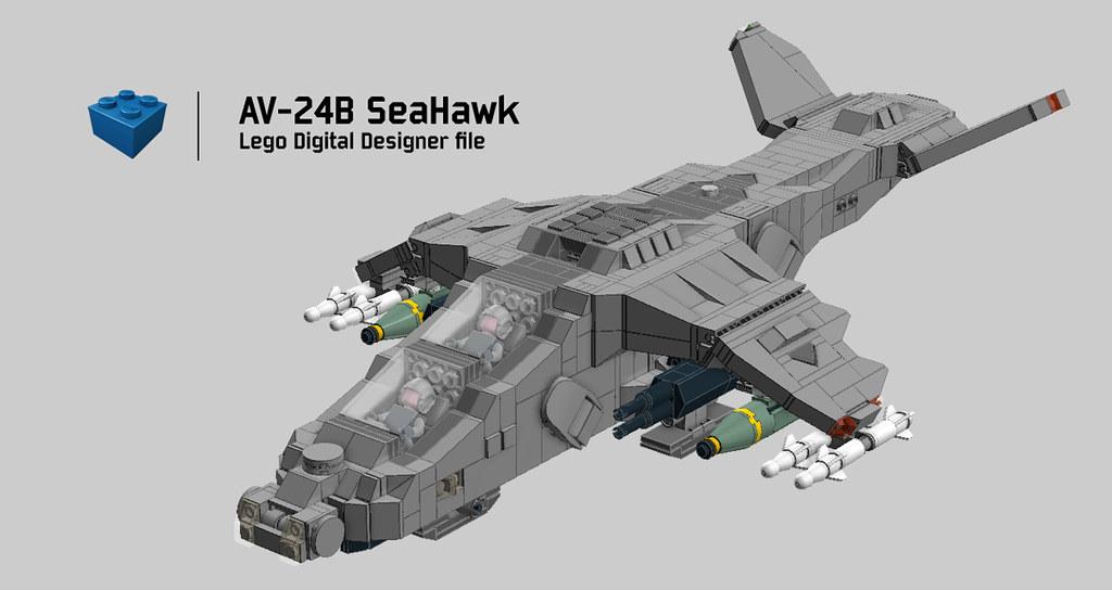 AV-24B SeaHawk LDD | Go make your own :) Download LDD File S… | Flickr