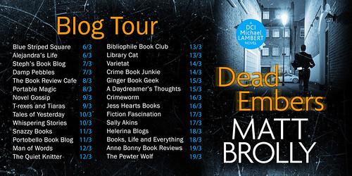 Dead Embers blog tour 1