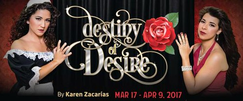 Destiny of Desire, a Satire in Winter Garden