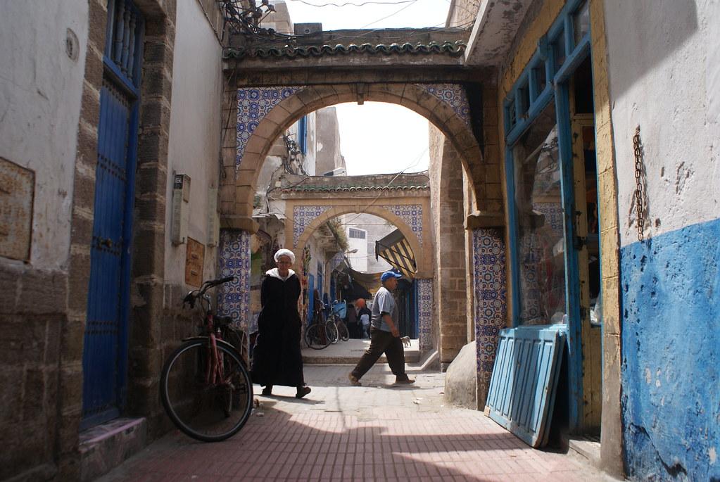 Essaouira est une petite ville très agréable à parcourir à pied.