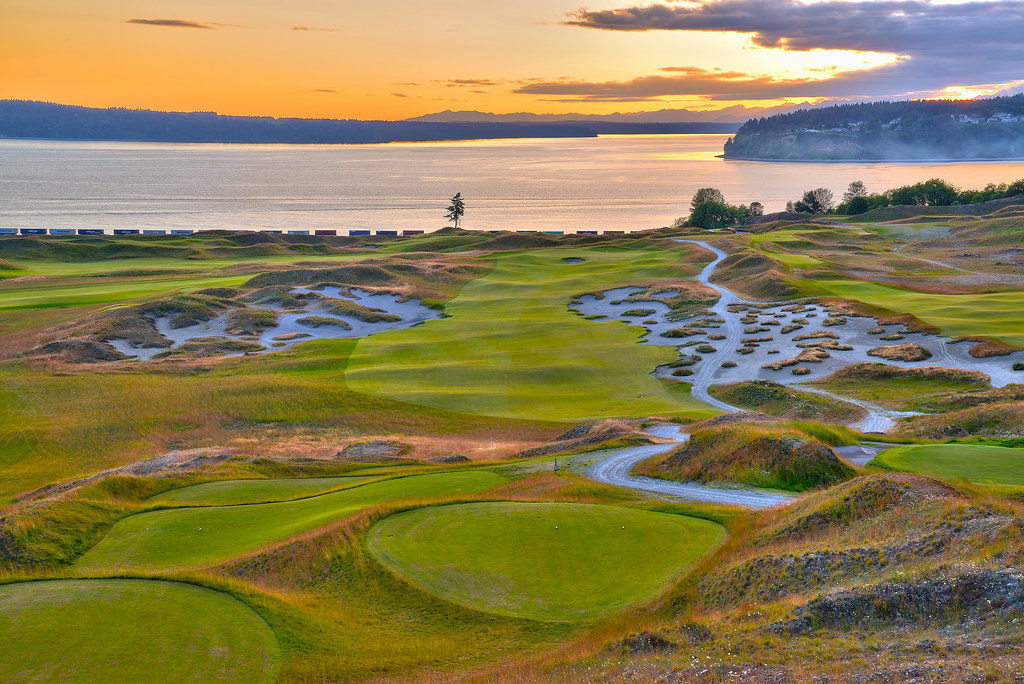 Chambers Bay Golf Course Location of the 2015 US Open Ta Flickr