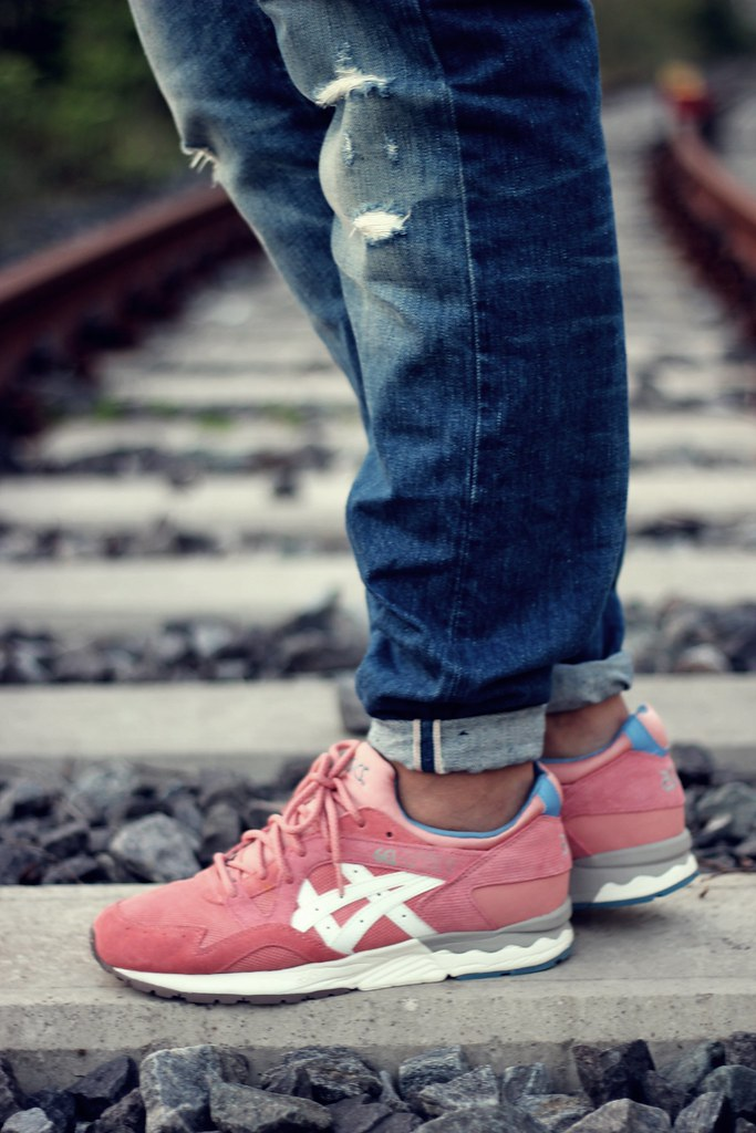 asics gel lyte v rose