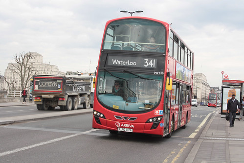 Arriva London North DW310 LJ10CUV
