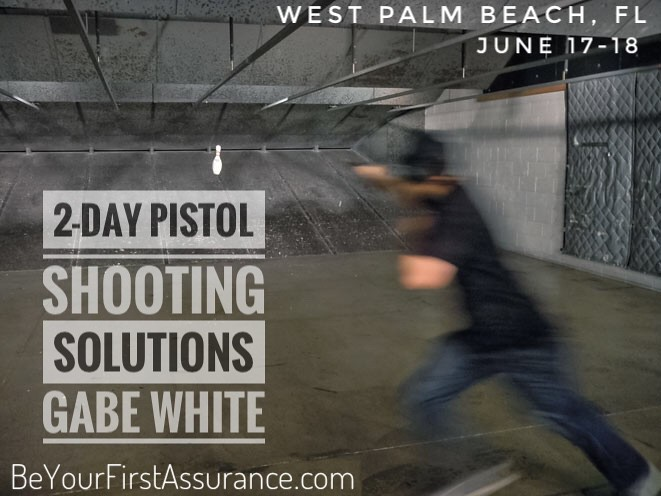 Pistol Shooting Solutions w/Gabe White, West Palm Beach, FL