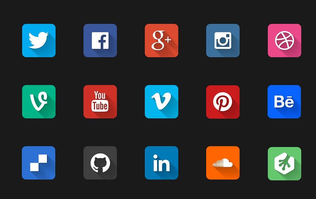 Image result for social media popular flickr