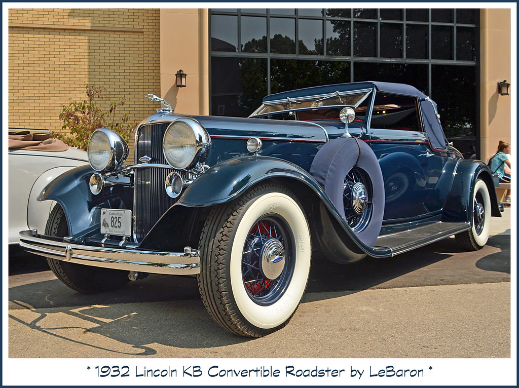 1932 Lincoln KB Convertible Roadster   August 9, 2014 saw th…   Flickr