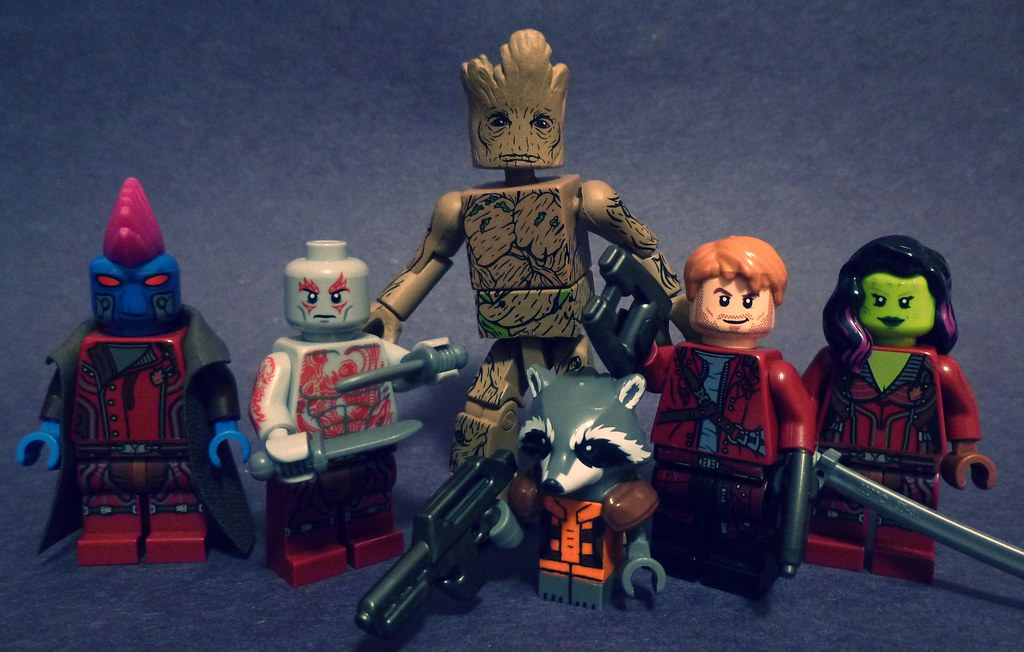 Lego Guardians of The Galaxy  I swear this is my final Guar  Flickr