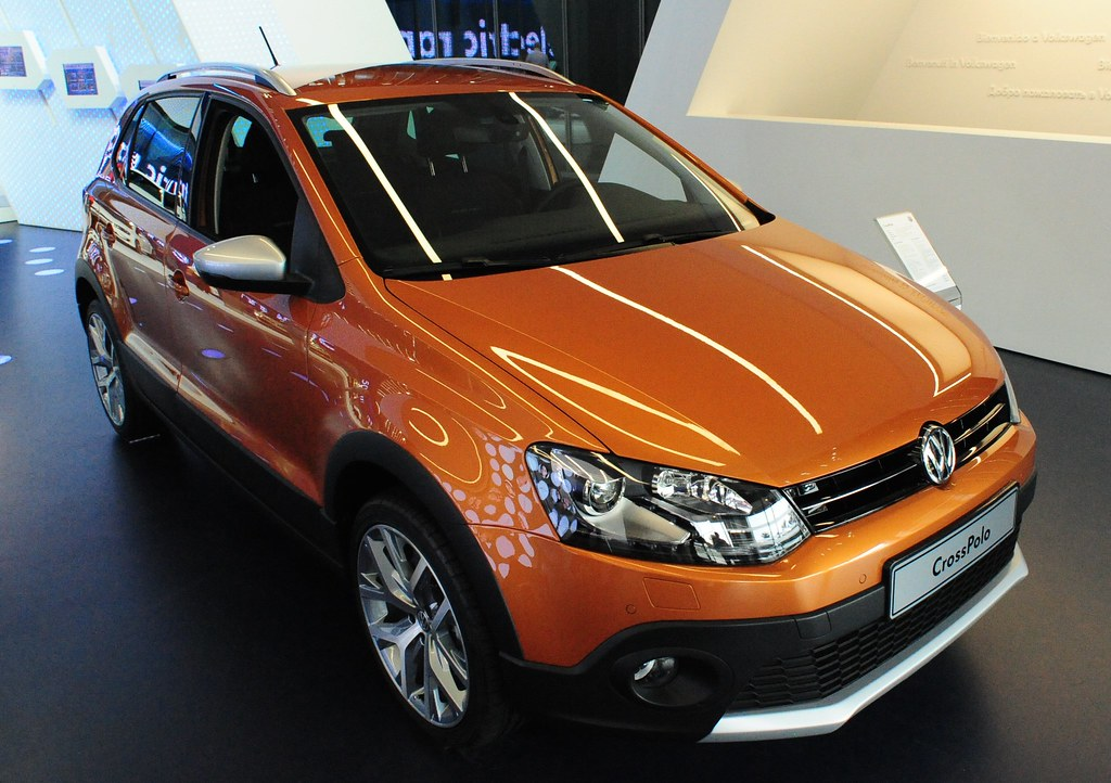 2014 Vw Crosspolo Displayed In The Autostadt A Visitor At Flickr