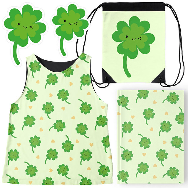 Lucky Clover at Redbubble