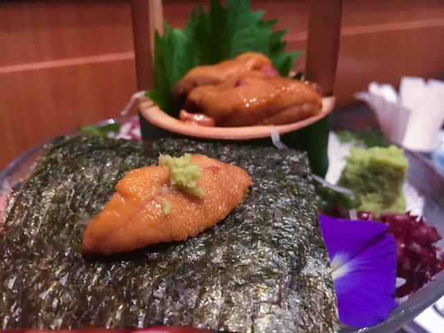 Ishin Japanese Dining Old Klang Road - Hokkaido Uni Sashimi