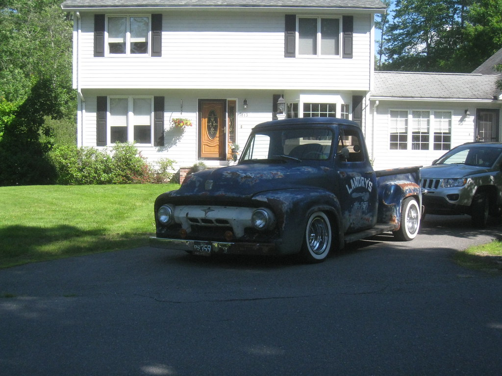 1954 Ford Pickup Truck Awesome Rat Rod Flickr By Sixty8panther