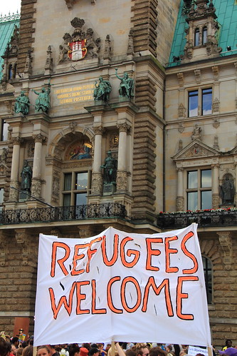 Lampedusa in Hamburg - still here to stay | by Rasande Tyskar