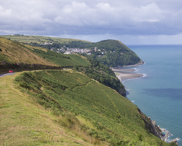 Countisbury Hill