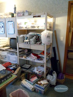 Sewing Room 'Before' Reorganization | by SewAmazin