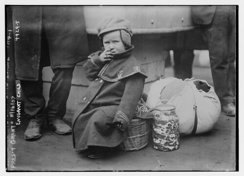"Emigrant child, ""Pres't Grant"" (LOC)"