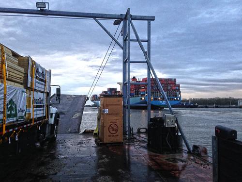 The Barge To Daufuskie Island