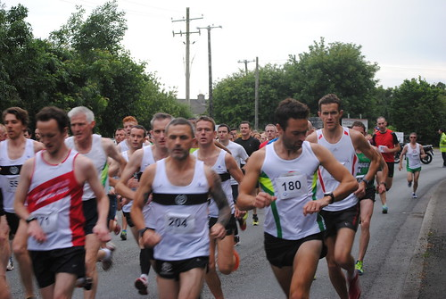 Start of the St. Coca's 5KM Road Race and Fun Run 2014 | by Peter Mooney