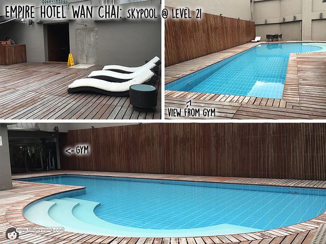 Empire Hotel Wan Chai swimming pool