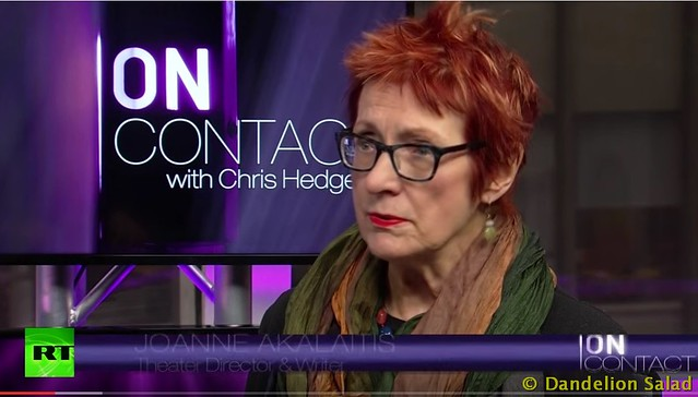 Chris Hedges and JoAnne Akalaitis: Assault on the Arts