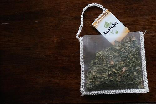 Handsewn teabag - 2014-08-06