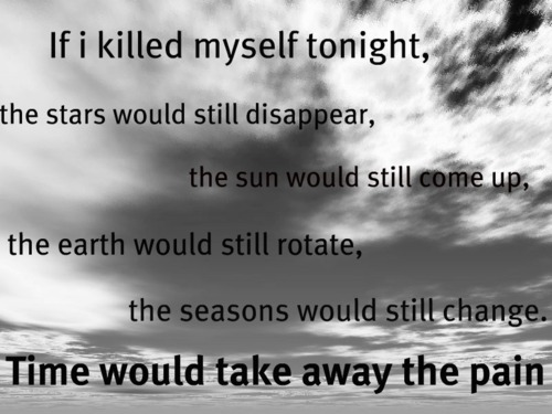 Depressing Quotes About Suicide
