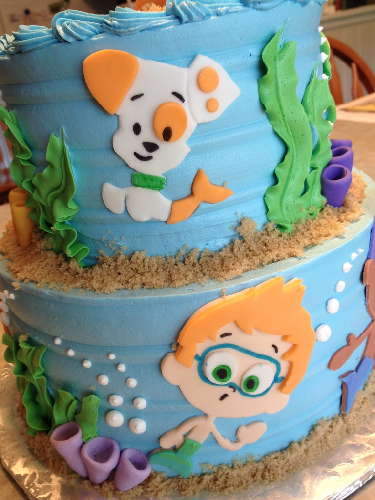 Bubble Guppies Birthday Cake Grace Ful Cakes Flickr