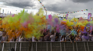 Bristol-Bath HOLI ONE Colour Festival | by Angel Ganev