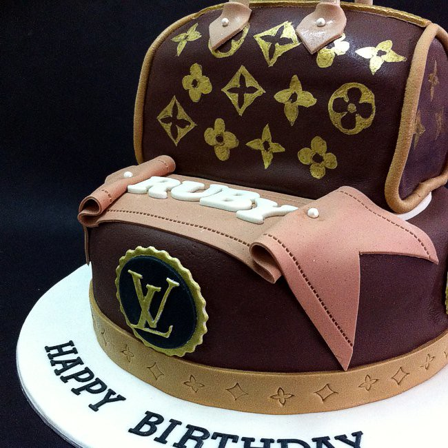 Gift For Momlv Bag Birthday Cakes Handcraft Sweet Fondan Flickr
