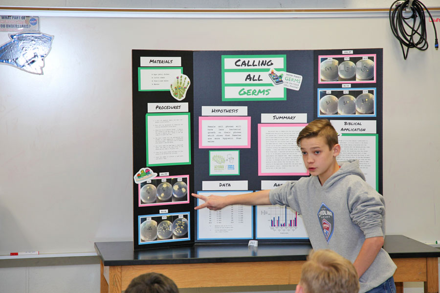 Science Fair Project presentations