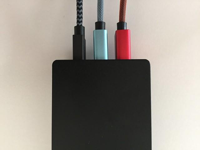 20170208 Câbles Lightning et Micro USB Rampow 00020
