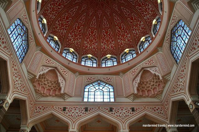 Inside Masjid Putra Malaysia
