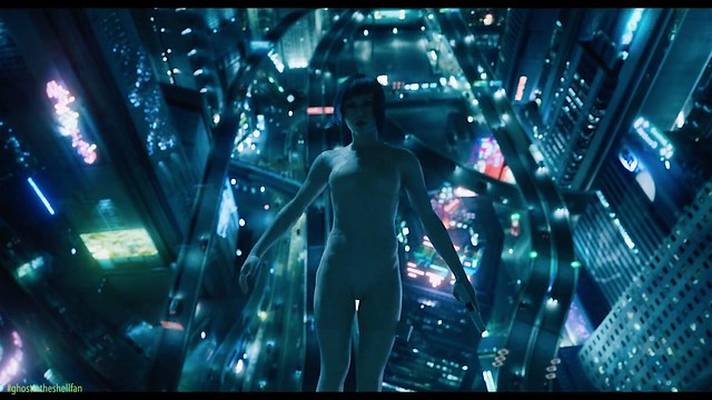 GHOST IN THE SHELL CITYSCAPE NITE 03