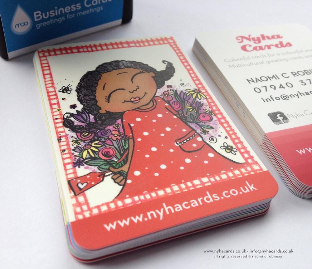 Business Cards 2014 | Cute little Olivia, I used illustratio… | Flickr