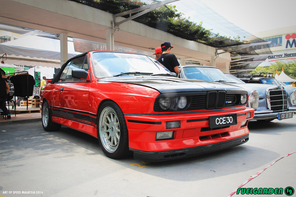 Bmw M3 E30 Convertible Art Of Speed Malaysia 2014 Flickr